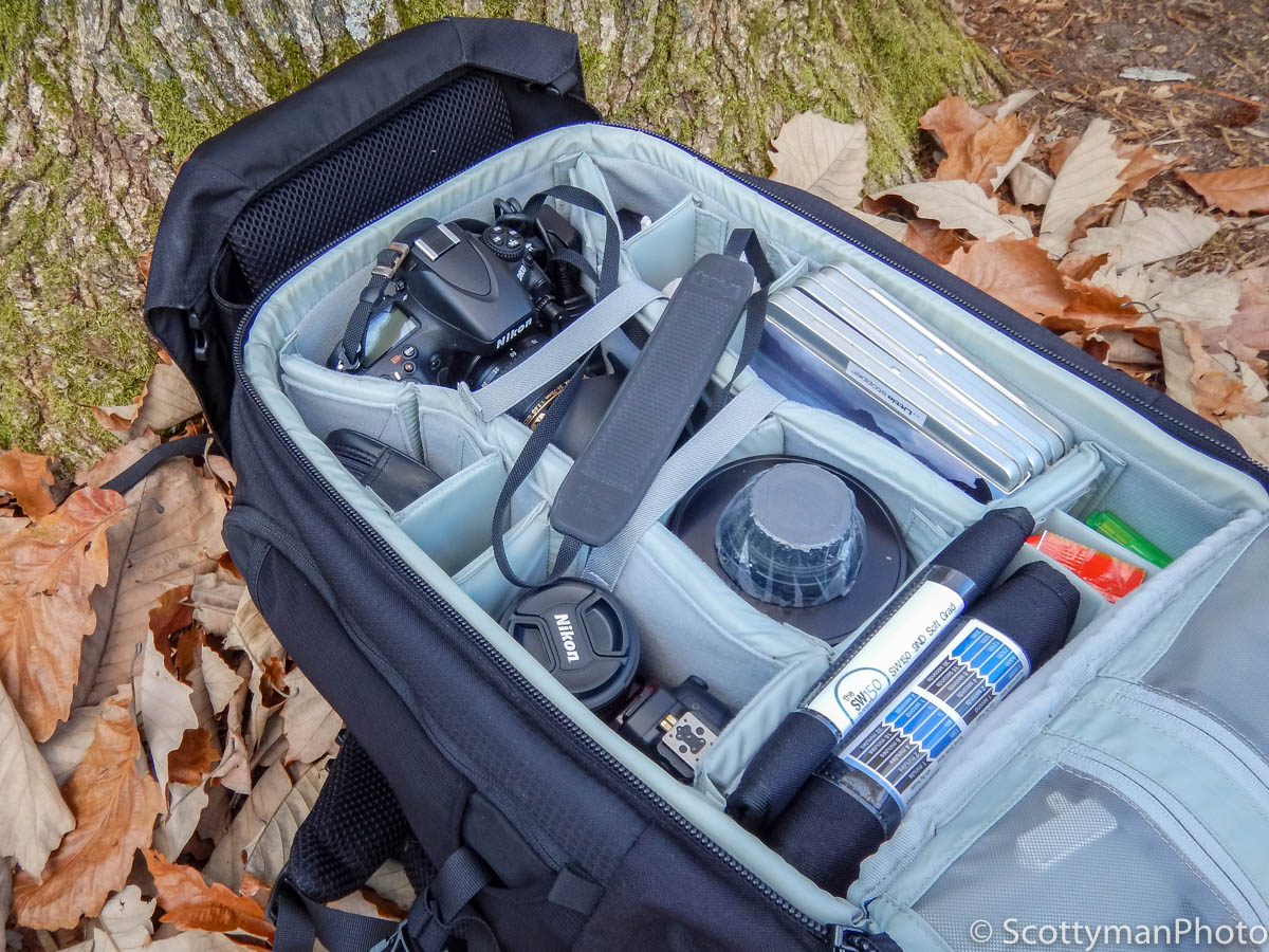 Does Photography Gear Matter? A Lowepro Trekker 450 Backpack With Camera Gear.
