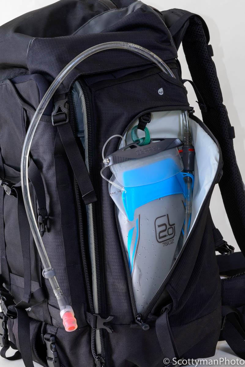 Lowepro Pro Trekker 450 AW Camera Backpack Hydration Pocket