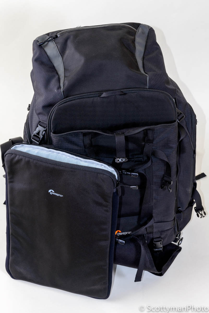 Lowepro Pro Trekker 450 AW Camera Backpack Laptop Compartment